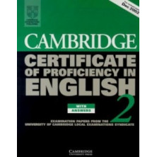 Cambridge English PROFICIENCY 2: Student's Book with answers and Audio CD - Cambridge