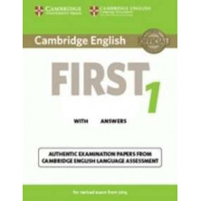 Cambridge English FIRST 1 for revised exam from 2015: Student's Book with answers and Audio CD - Cambridge