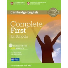 Complete FIRST with answers - PACK Students Book + Workbook + CDs - Cambridge