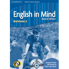 English in Mind 5 2nd Ed - Workbook + CD - Ed. Cambridge