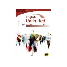 English Unlimited STARTER - Coursebook + e-Portfolio DVD - Cambridge