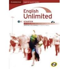 English Unlimited STARTER - Self-study Pack (Workbook + DVD + Audio CD) - Cambridge