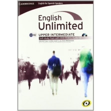 English Unlimited INTERMEDIATE - Self-study Pack (Workbook + DVD + Audio CD) - Cambridge