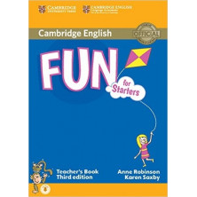 Fun for Starters - Teacher's Book - Cambridge
