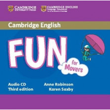 Fun for Movers - Audio CD - Cambridge