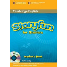 Storyfun for Starters - Teacher's Book + Audio CD - Cambridge