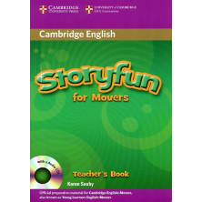 Storyfun for Movers - Teacher's Book + Audio CD - Cambridge