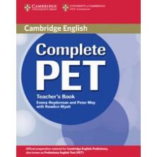 Complete PET - Teacher's Book - Cambridge