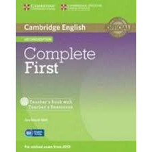 Complete FIRST - Teacher's Book + CD - Cambridge