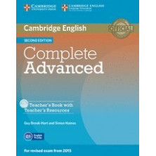 Complete ADVANCED - Teacher's Book + CD - Cambridge