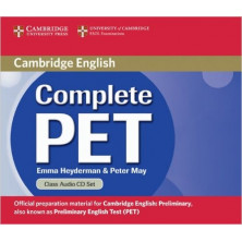 Complete PET - Class Audio CDs - Cambridge