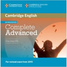 Complete ADVANCED - Class Audio CDs - Cambridge