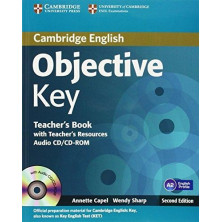 Objective KEY - Teacher's Book + Teacher's Resources CD-Rom - Cambridge