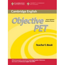 Objective PET - Teacher's Book + Teacher's Resources CD-Rom - Cambridge