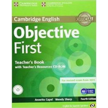 Objective FIRST - Teacher's Book + Teacher's Resources CD-Rom - Cambridge