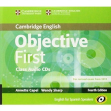 Objective FIRST - Class Audio CDs - Cambridge