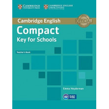 Compact KEY for Schools - Teacher's Book - Cambridge