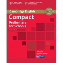 Compact Preliminary for Schools - Teacher's Book - Cambridge