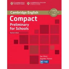 Compact Preliminary for Schools - Teacher's Book - Cambridge