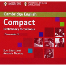 Compact Preliminary for Schools - Class Audio CDs - Cambridge
