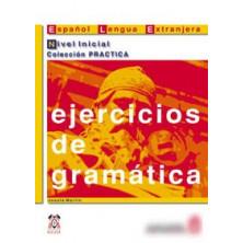 Ejercicios de gramática: Nivel inicial - Ed. Anaya