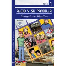 Alejo y su pandilla 1: Amigos en Madrid - Ed. Edinumen