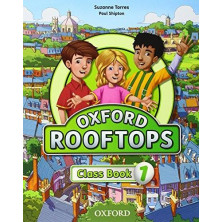 Oxford Rooftops 1 - Class Book - Ed. Oxford