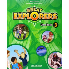 Great Explorers 3 - Class Book + Songs CD - Ed. Oxford