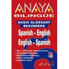 Anaya bilingüe español- inglés / inglés-español - Ed. Anaya