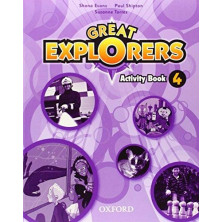 Great Explorers 4 - Activity Book + Songs CD - Ed. Oxford