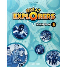 Great Explorers 5 - Activity Book + Songs CD - Ed. Oxford