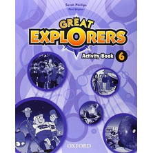 Great Explorers 6 - Activity Book + Songs CD - Ed. Oxford