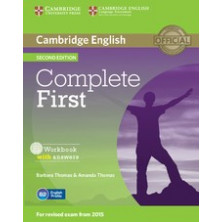 Complete FIRST without answers - Workbook + CD - Cambridge