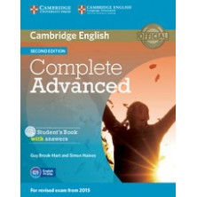 Complete ADVANCED without answers - Student's Book + CD - Cambridge