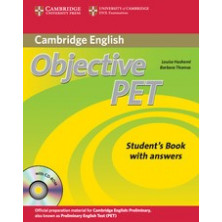 Objective PET without answers - Student's Book + CD - Cambridge