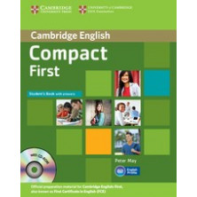 Compact FIRST without answers - Student's Book + CD - Cambridge