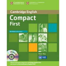 Compact FIRST without answers - Workbook + CD - Cambridge