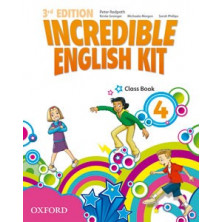 Incredible English Kit 4 - Class Book - Ed. Oxford