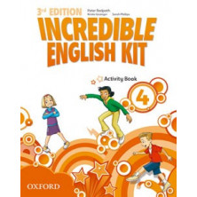 Incredible English Kit 4 - Activity Book - Ed. Oxford