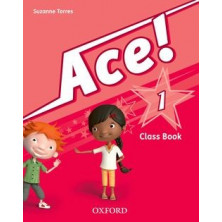 Ace! 1 - Class Book + Songs CD - Ed. Oxford