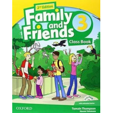 Family and Friends 3 - 2nd Ed - Class Book + MultiROM - Ed. Oxford