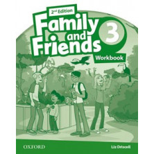 Family and Friends 3 - 2nd Ed - Workbook - Ed. Oxford
