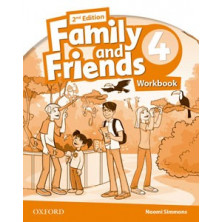 Family and Friends 4 - 2nd Ed - Workbook - Ed. Oxford