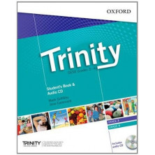 Trinity GESE Grades 3 - 4 - Student's Book + Audio CD - Ed. Oxford