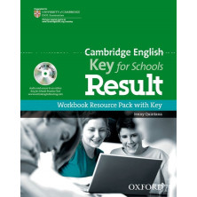 Cambridge English KEY for schools - Workbook with key + CD - Ed. Oxford