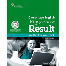 Cambridge English KEY for schools - Workbook without key + CD - Ed. Oxford
