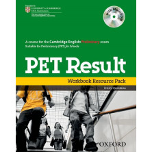 PET Result - Workbook without key + Multirom + Online practice tests - Ed. Oxford