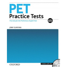 PET for schools Practice Test with key pack - Ed. Oxford