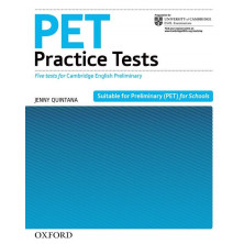 PET Practice Test without key pack - Ed. Oxford