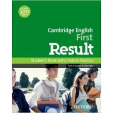 Cambridge English FIRST Result - Student's Book + Online skills practice - Ed. Oxford